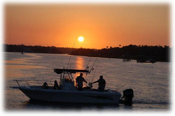 Citrus County Fishing at Sunset