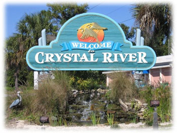 Crystal River City Sign