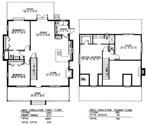 The Adams Cracker Floor Plan