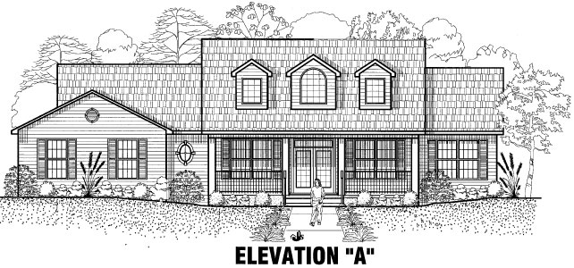 The Evergreen Elevation Option A