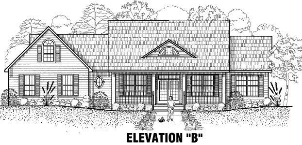 The Evergreen Elevation Option B
