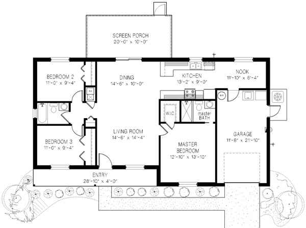 The Oak Floor Plan