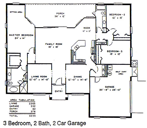The Palmer Floor Plan