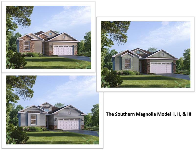 The Southern Magnolia Elevation